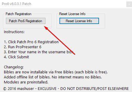 ProPresenter 6 0 3 8 для Windows (+ Patch / Crack) скачать
