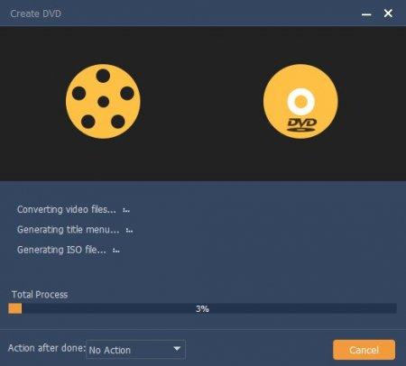 процесс сохранения диска