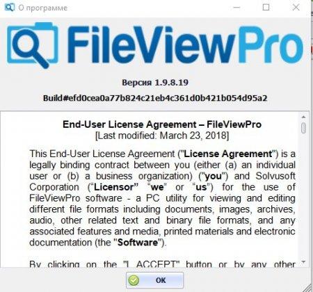 лицензия fileviewpro
