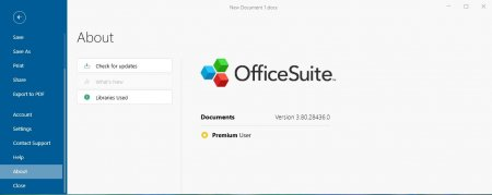 лицензия officesuite