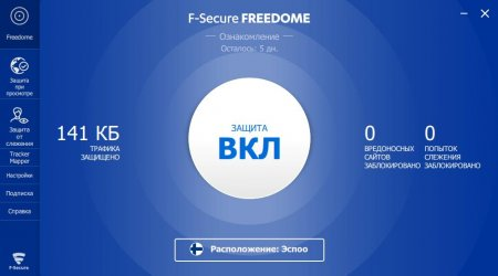 F-Secure Freedom VPN