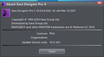 лицензия Xara Designer Pro X